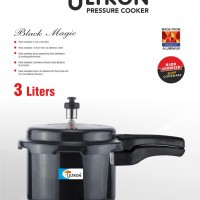 Ultron Black Magic Hard Anodized 3ltr Cooker