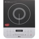Pigeon Brio-2100W Induction Cooktop  (Silver, Black, Push Button)
