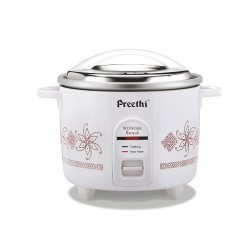 Preethi RC 320 Electric Rice Cooker (1.8 L) Double pan