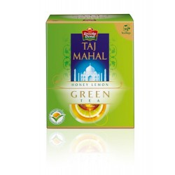 Taj Mahal Tea Bags - Honey Lemon Green - 25 pcs