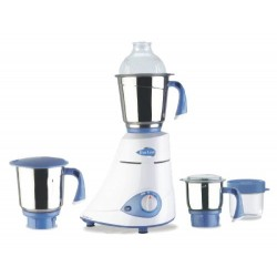 Preethi Blue Leaf Silver Mixer Grinder 600-Watt MG-149