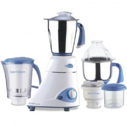 Preethi Blue Leaf Platinum Mixer Grinder 750-Watt MG-139