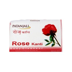 Patanjali Rose Body Cleanser - 75GM