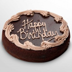Birthday Cool Cake 004 (Chocolate, Black Forest) - 2Kg