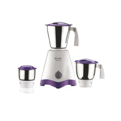 Preethi Crown MG-205 500-Watt Mixer Grinder MG-205 (White/Purple)