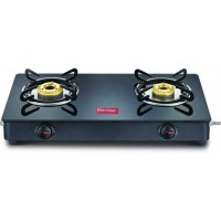 Prestige Magic GTMC Glass, Steel Manual Gas Stove  (2 Burners)