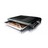 Philips HD4419 2300-Watt Smooth and Ribbed Plate Table Grill