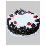 Black and White Fun-Cool Cake - 1 Kg