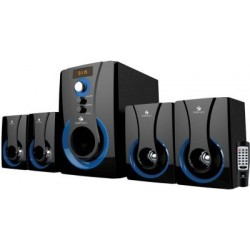 Zebronics 4.1 Multimedia SW3490 RUCF Home Audio Speaker  (Black, 4.1 Channel)