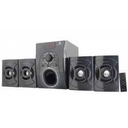Zebronics -SW 531 RUF Home Audio Speaker  (Black, 4.1 Channel)