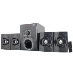 Zebronics -BT 531 RUF Home Audio Speaker  (Black, 4.1 Channel)