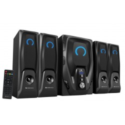 Zebronics Mambo -BT RUF Home Audio Speaker  (Black, 4.1 Channel)