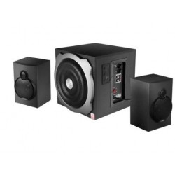 F&D A521 Portable Laptop/Desktop Speaker  (Black, 2.1 Channel)
