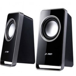 F&D  V 520 Portable Laptop/Desktop Speaker  (2.0 Channel)