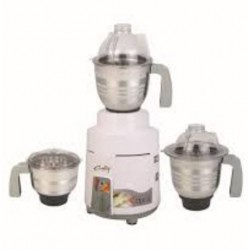 Rally Optra 750 W Mixer Grinder  (White, 3 Jars)