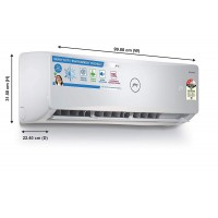 Godrej 1.5 Ton 3 Star Inverter Split AC (Copper, GIC 18ATC3-WSA, White)