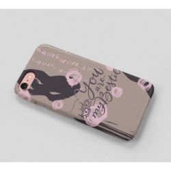 Designer Printed Back Case for All mobile  brands-You are my bestie-0007